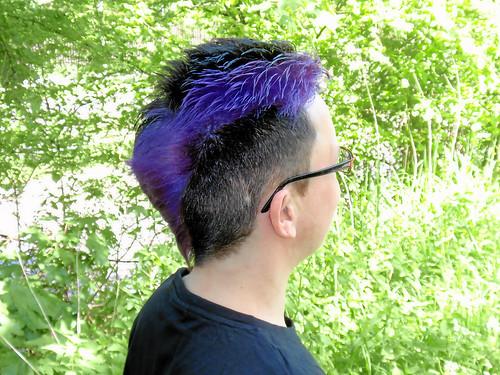 Neue Farbe für den Kopf