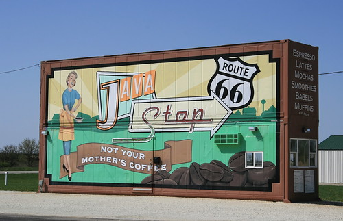 Route 66 Java Stop
