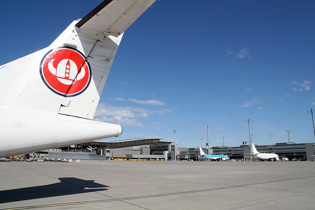 Fly på Oslo Lufthavn Gardermoen