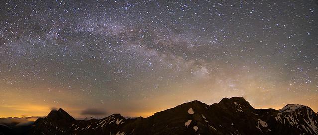 Voie Lactée sur Vanil Noir