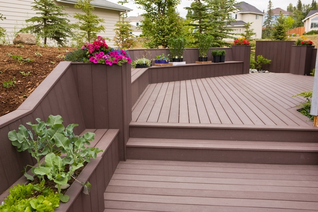 deck design ideas trex cedar hardwood alaskan0107 flickr photo