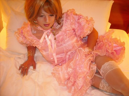 Pink Sissy Dress by tori_chitown