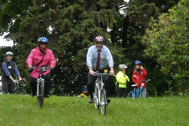 Mayor Adams at Safe Routes to School ride-9