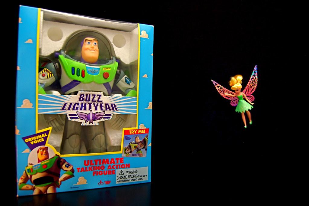 Buzz Lightyear vs. Tinker Bell (162/365)