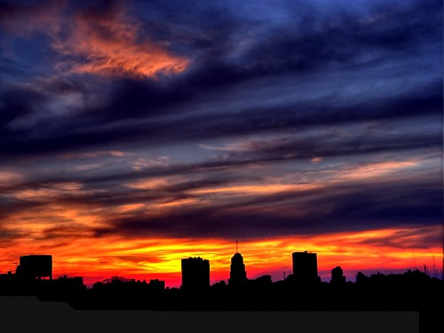city sunset argentina clouds atardecer buenosaires silhouettes ciudad nubes ocaso siluetas magicunicornverybest magicunicornmasterpiece