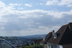 a view over totnes