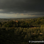 Church Overlooking the Land - Montepulciano, Tuscany