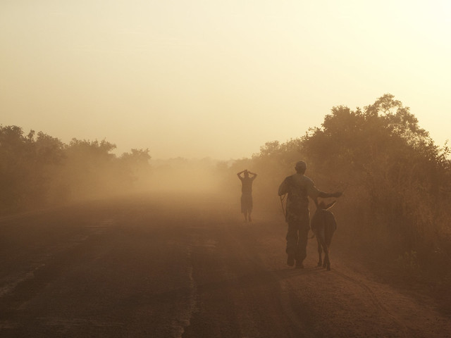 Dust dust and more! On a 930km walk around The Gambia West Africa, 2009