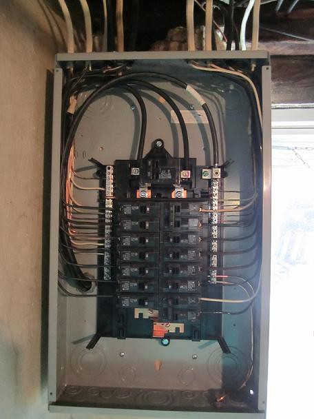 Electrical Panel This Is The Insides Of A Panel Neatly Don