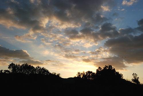 Kreta - Crete - Himmel ueber Palekastro - Chiona