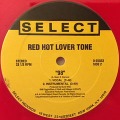 RED HOT LOVER TONE:#1 PLAYER(LABEL SIDE-B)