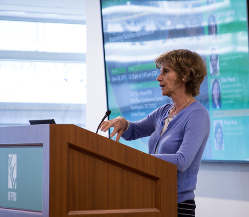 Chair Marie Ruel addresses the audience