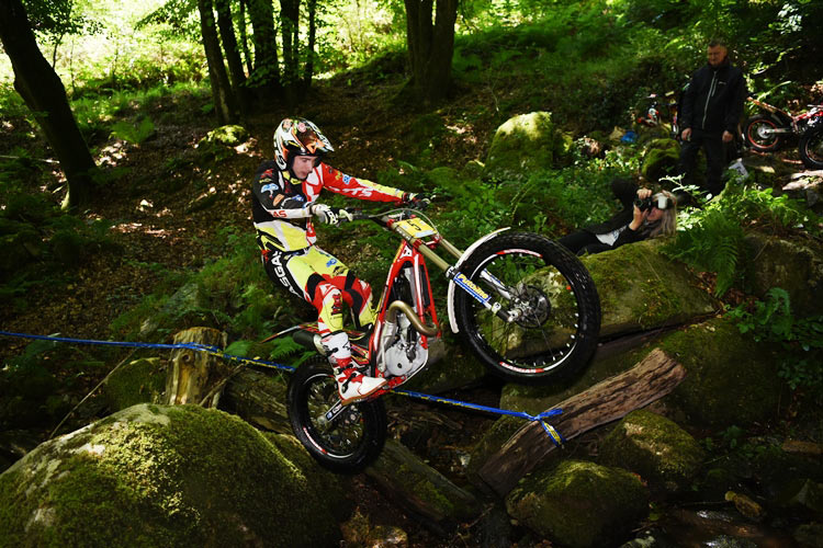 Campeonato Británico 2017. The Anthony Rew Trial