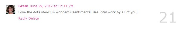 Premiere Day No. 3 Comment Winner