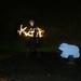 Lightpainting in Bollington by eastofnorth