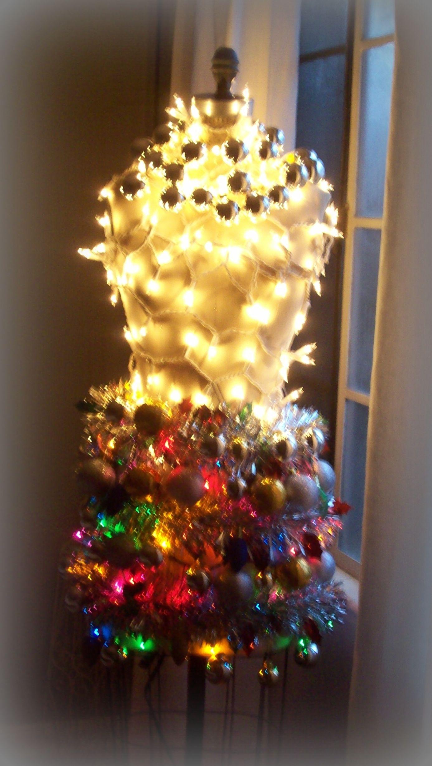 Dress form christmas tree flickr photo sharing