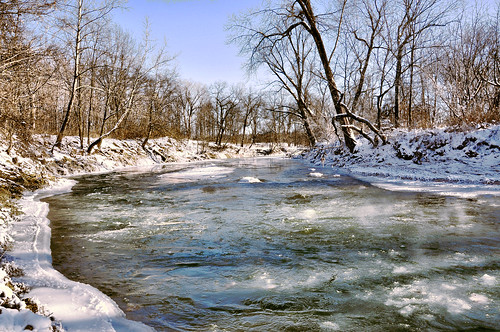 county bridge winter red snow nature creek us illinois big bureau covered princeton nationalregisterofhistoricplaces peoriagalenatrail