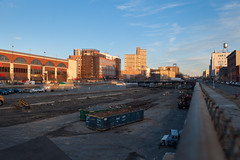 Vanderbilt rail yard demolished
