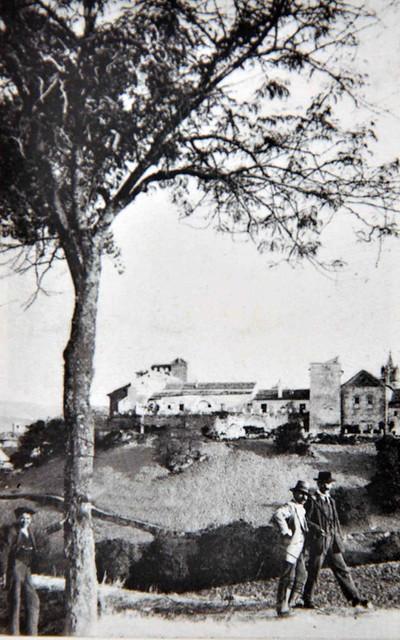 Villa desde Junquillo. Observar laderas de la Villa