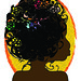 Mulher Negra Estilo Art Noveau by cindyfolio