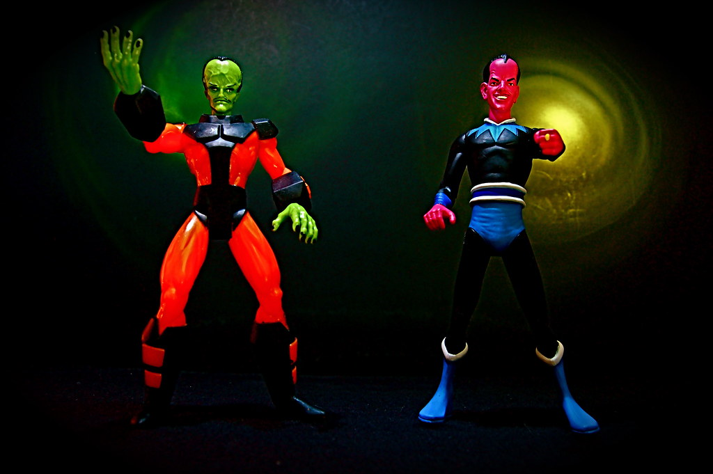 The Leader vs. Sinestro (14/365)