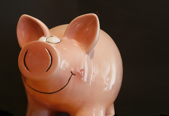 Piggy Bank by flickr user alancleaver