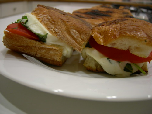 caprese sandwiches by lifeandyarn