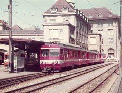 "SGA0004 Triebwagen BDeh 4/4 14 ""Gais"" in St. Gallen"