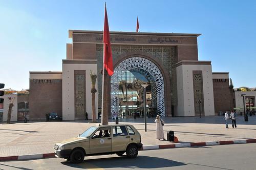 La estación de Marrakech