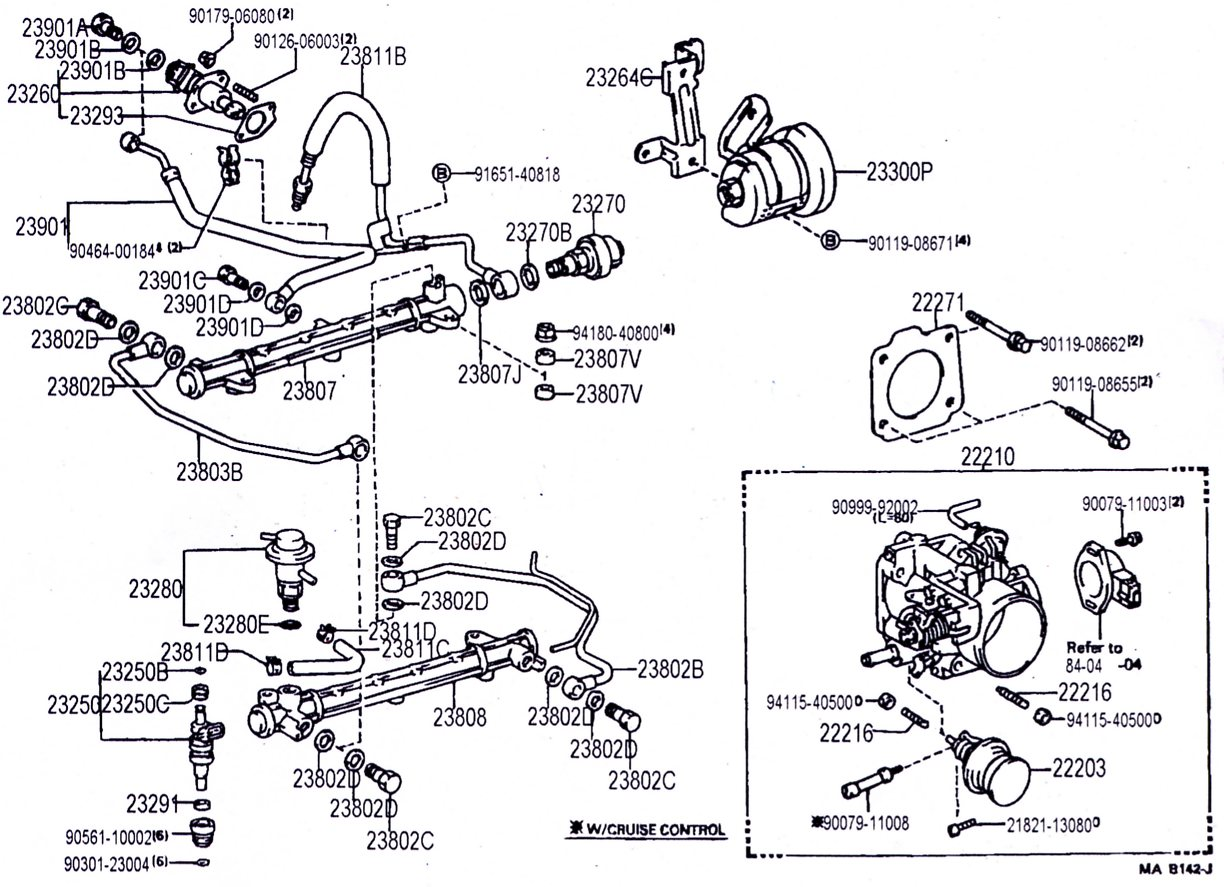 Intake Manifold Hose Diagram Wiring Diagrams Ford Taurus Fuel Line 3vz Hoses And Upper Injection D16y7 2010 Camaro Ss