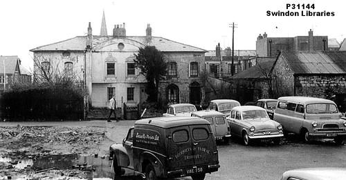 1964: Unusual Buildings on Prospect Place/Lane, Swindon