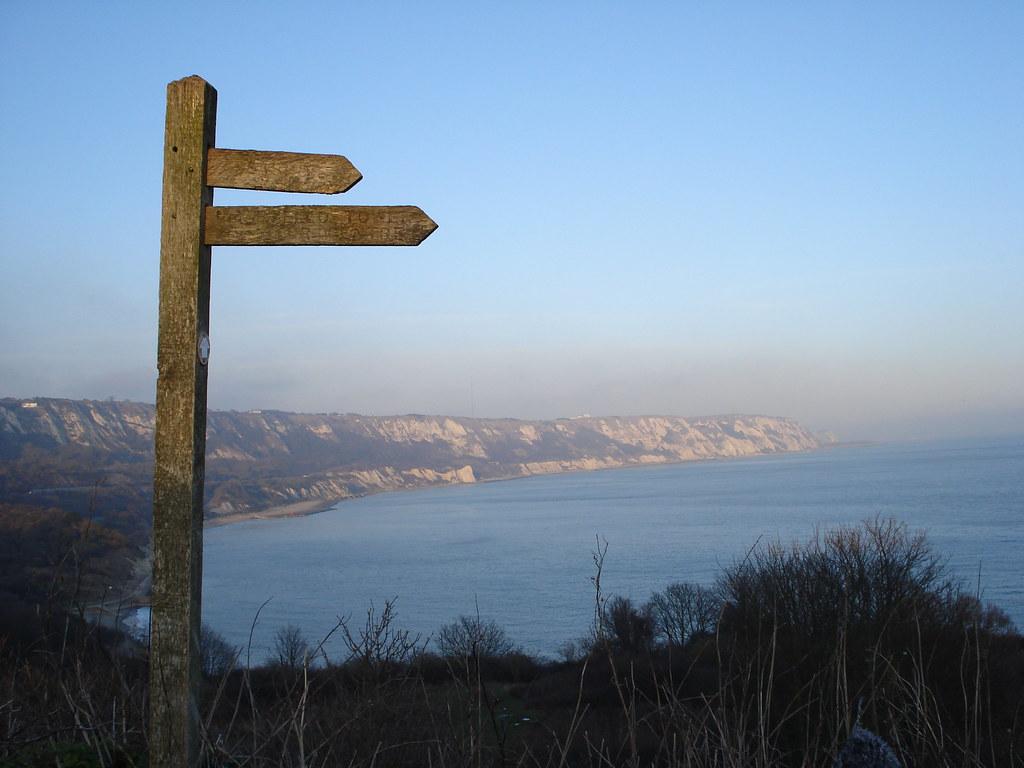 Folkestone cliffs Extra walk 13: Folkestone circular