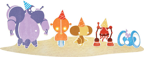 "Robots for ""Happy Birthday, Robot!"""