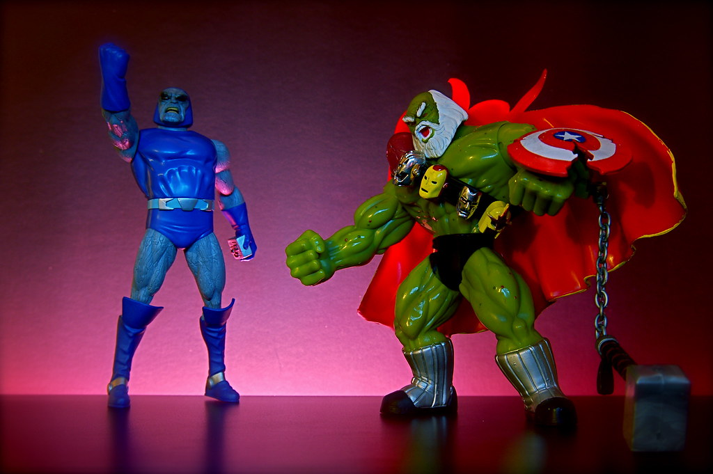 Darkseid vs. Maestro (39/365)