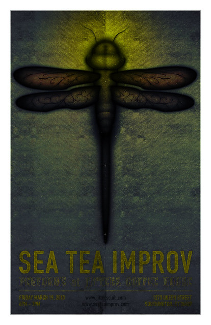 Sea Tea Jitters Poster