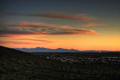 Thunderbird Sunset HDR 03