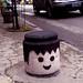 Playmobil head street art by Ropereiras by Rockpics