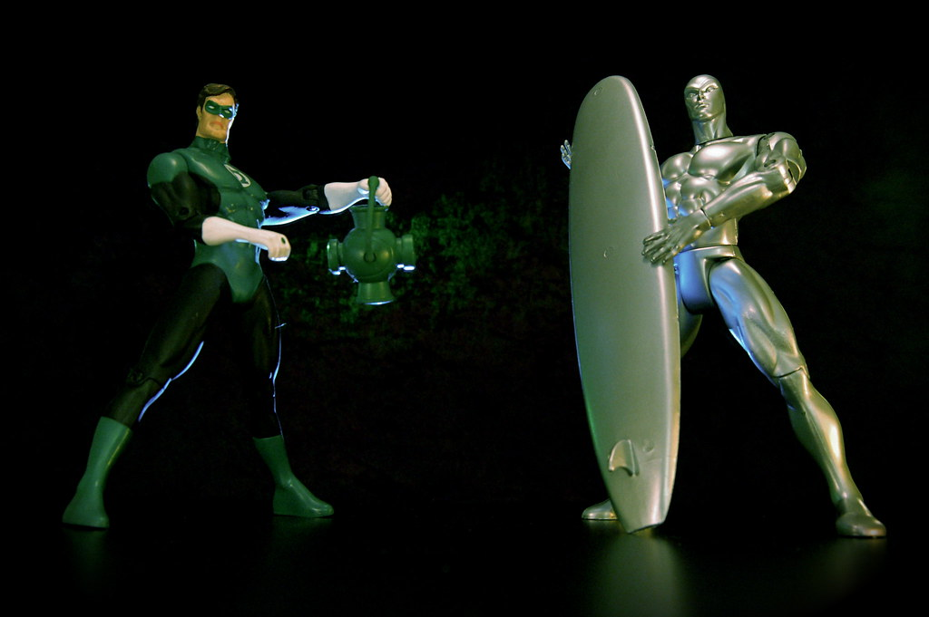 Green Lantern vs. Silver Surfer (59/365)