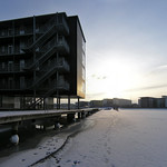 teglværkshavnen housing on ice, tegnestuen vandkunsten