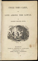 Uncle Tom's Cabin; or, Life Among the Lowly [Title page]