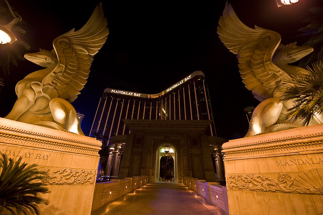 Mandalay Bay Hotel & Casino Entrance - Las Vegas