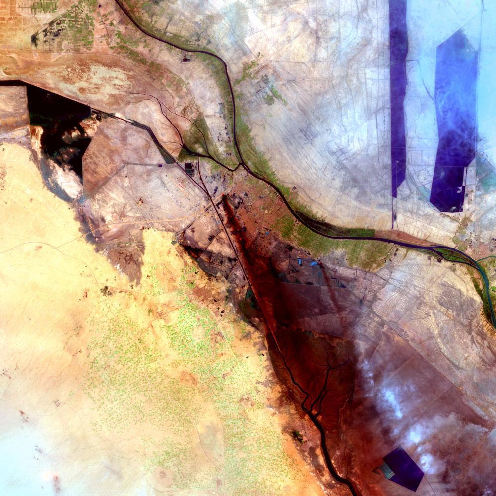 Al Basrah, Iraq (c)NASA