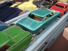 Tin Thunderbird and Corvair