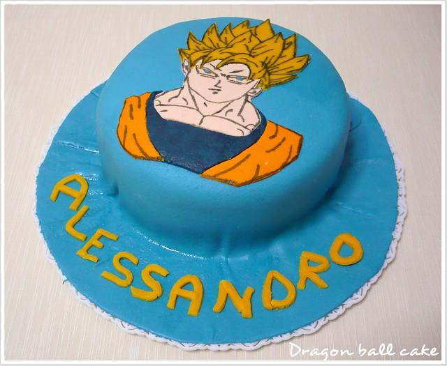 how to make a dragon ball z cake