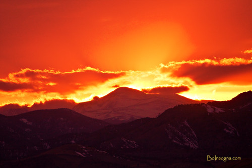 Colorado Rocky Mountain Sunset | Flickr - Photo Sharing!