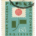 Poland Postage stamp: stamp day flower