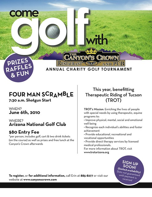 charity golf tournament flyer design | Flickr - Photo Sharing!