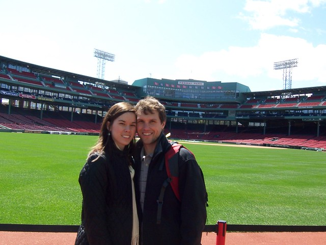 anna and ian at fenway