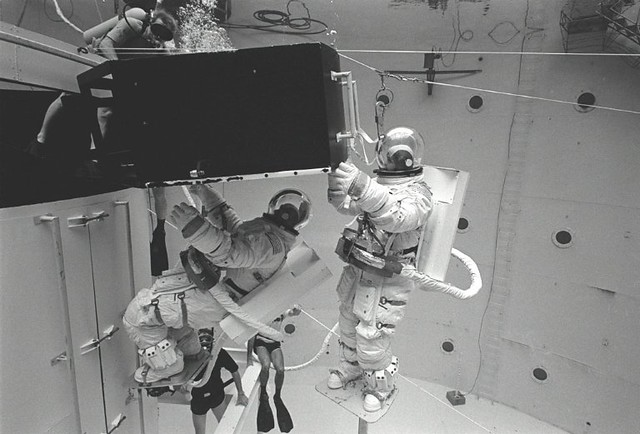 1979: Hubble Astronaut Training | Flickr - Photo Sharing!