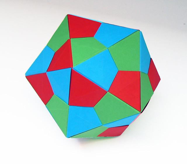 Origami IcosahedronIcosahedron Origami